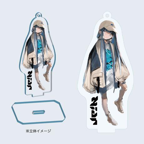 Niar acrylic keychain + sticker