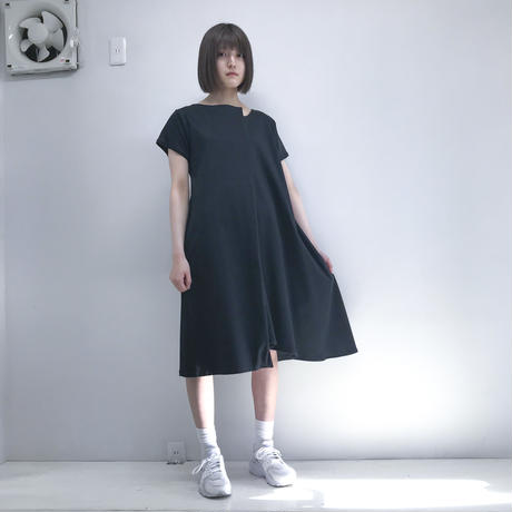 SHUTTLE/ bump one-piece /black