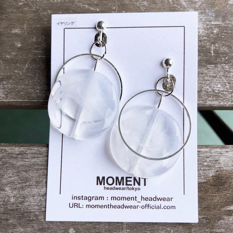 MOMENT headwear / earring / pierce