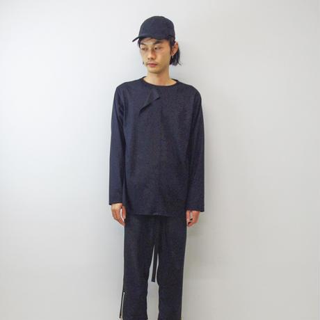 KONYA / Overlap カットソー/ black