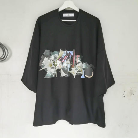 BALMUNG / プリントビッグT  / PARK-black