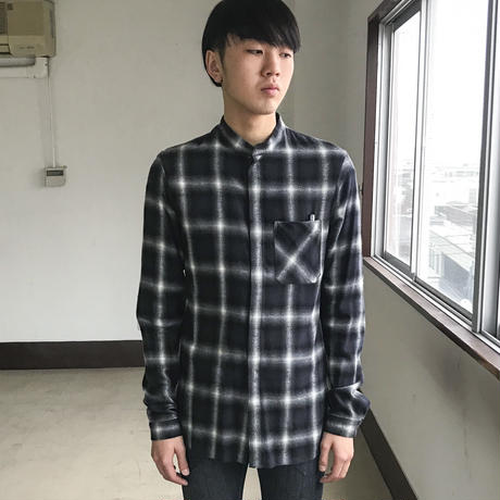 LUCIOLE_JEAN PIERRE Flannel Scarf Shirt