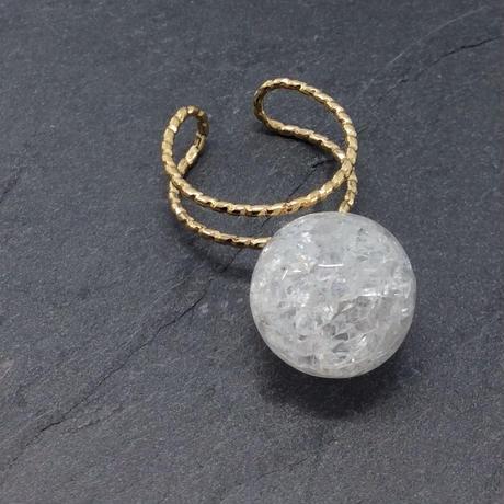 tivenus Double Ring ball Crystal