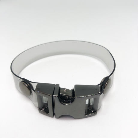 NICK NEEDLES /   PVC BRACELET / BLACK