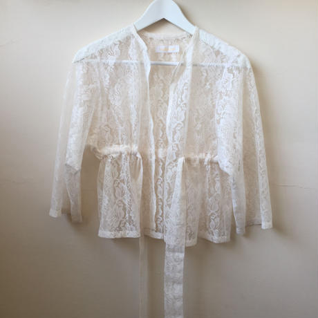 nono Lace gown white