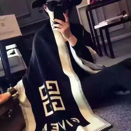 新入荷 限定セール★ ジバンシィカシミヤショール・マフラー GIVENCHY