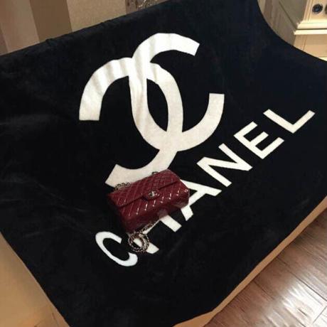 シャネルブランケット 可愛い毛布 CHANEL毛布 送料無料 130*150CM