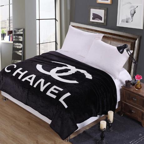 CHANEL毛布 シャネルブランケット 可愛い毛布 送料無料 デカサイズ!150*200CM