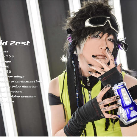 2nd Full Album「Solid Zest」(46P写真集付き)