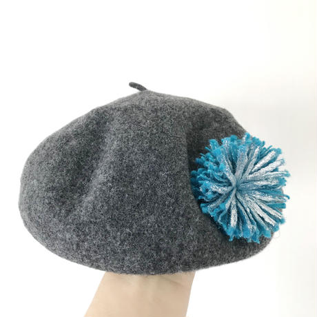 HIKARI 大粒ブローチ / turquoise blue