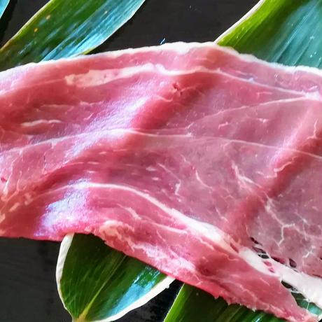 氷室熟成 ソフィア・ファーム放牧豚 しゃぶしゃぶ  ウデモモ肉   200g