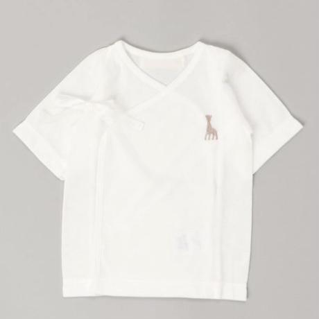 ソフィーふんわり短肌着エアーニット(刺繍ロゴ) #MILLI-1784562