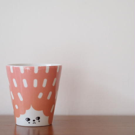 House of Rym face cup ピンク