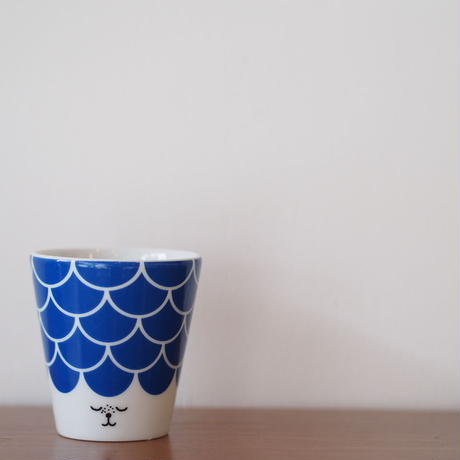 House of Rym face cup ブルー