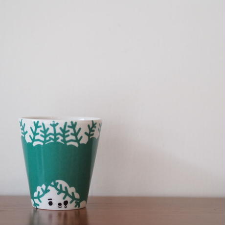 House of Rym face cup グリーン