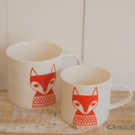 mini mug red fox