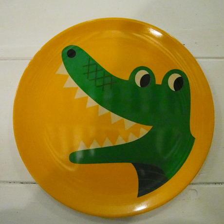 OMM-design メラミンプレート crocodile