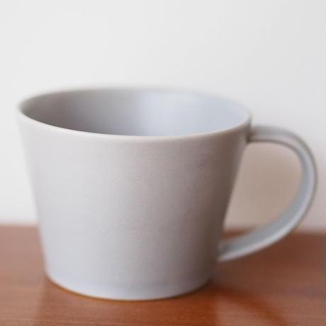 """作山窯  """"sara""""  コーヒーカップ グレー"""