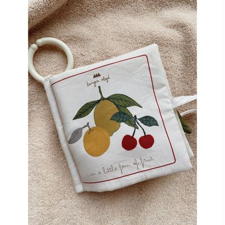 kongessloejd / fabric book《 fruit 》