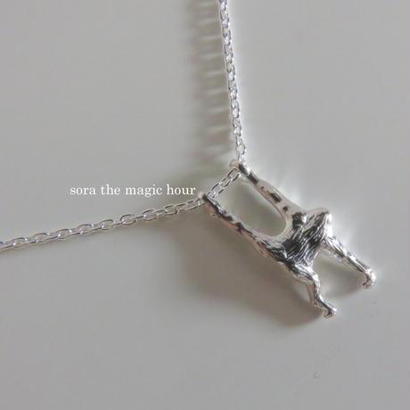 オランウータンのネックレス orangutans silver 925  H