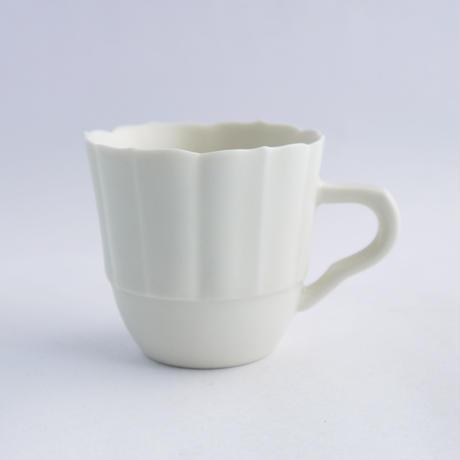 Mizuho Takeda  輪花マグカップS 【白】
