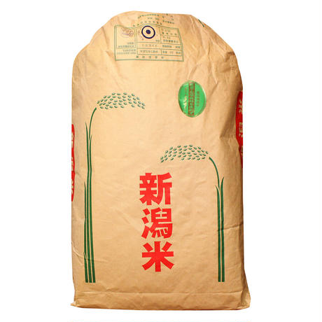 【令和3年・新米】農薬・化学肥料不使用コシヒカリ 30㎏(新潟県長岡産)