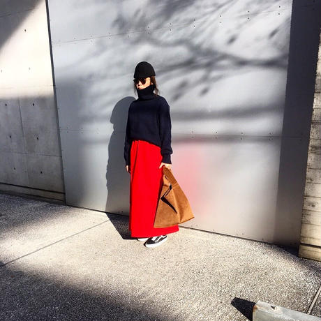 Lindsey's red skirt -s-