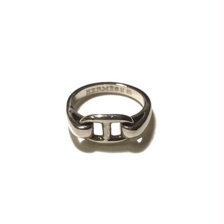 vintage HERMES CHAINE D'ANCRE RING #52