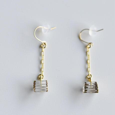 sorte glass jewelry ピアス SGJ-018P