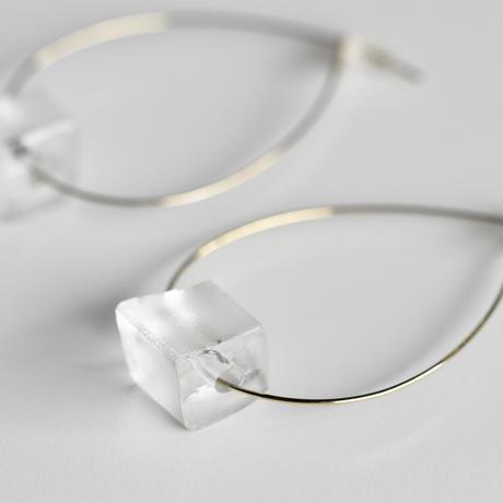 sorte glass jewelry ピアス SGJ-016S