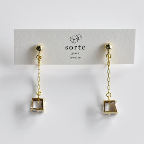 sorte glass jewelry イヤリング SGJ-017E