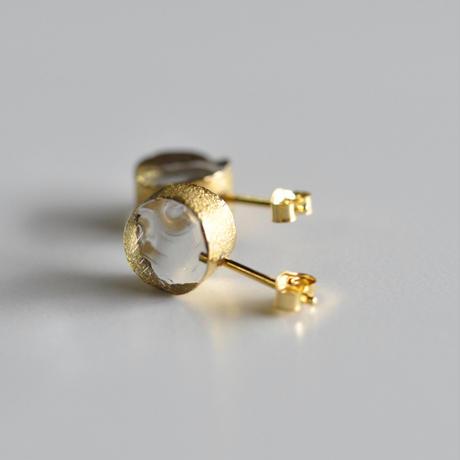 sorte glass jewelry ピアス SGJ-007P