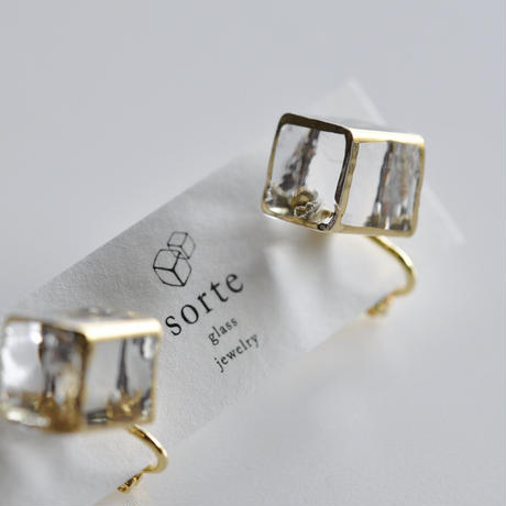 sorte glass jewelry イヤリング SGJ-006E