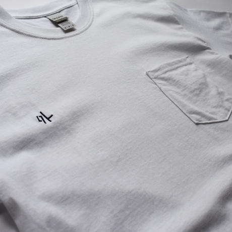 【刺繍】外 ポケット付 Tシャツ