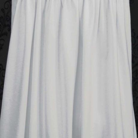 可愛い花柄レースのバックスタイル。肌触りの良い天竺のノースリーブカットソー (オフホワイト) A10