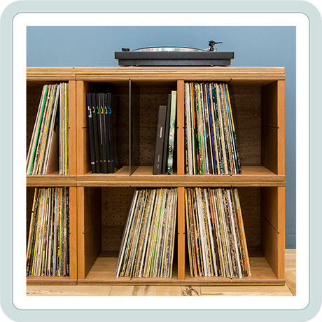 BEAMS RECORDS別注    「レコードシェルフ」