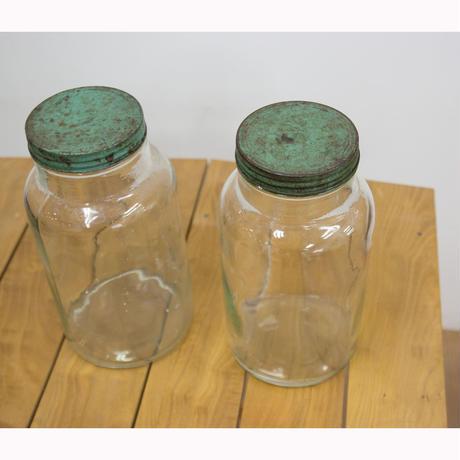 「アンティークガラスボトル」