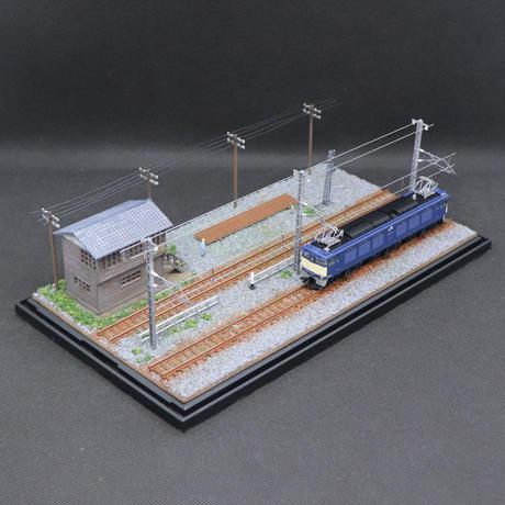 車両展示ケース(旧信号所)