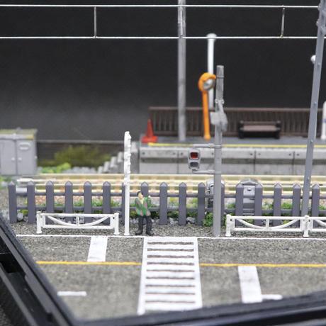 車両展示ケース(街の無人駅)