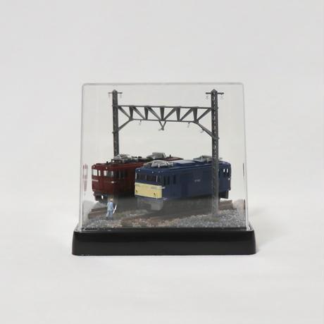 Bトレ・ベース_01(ED79 & EF65電気機関車 各1両付き)