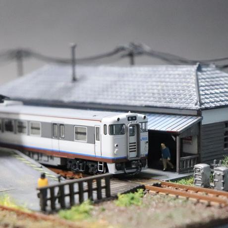 車両展示ケース(ローカル駅)