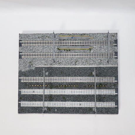 【受注生産】機関区の洗浄台 ミニジオラマ(モジュールレイアウト)