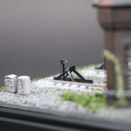 車両展示ケース(レンガ造り機関庫)