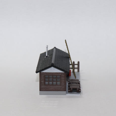 GREEN MAX 木造詰所(塗装・組み立て完成品)