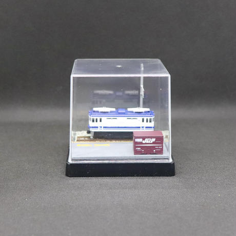 【在庫限り】Bトレ・ベース_03(EF65電気機関車1両&コンテナ1個付き)