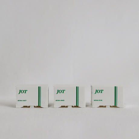 TOMIX 3116 私有 UR18A形冷蔵コンテナ(日本石油輸送・3個入)