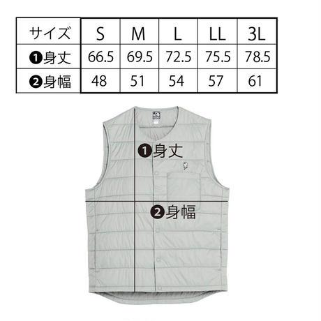 マブイくん刺繍インナーベスト(ブラック)