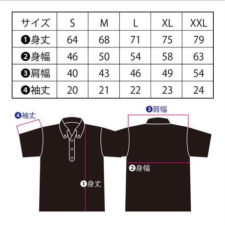 アンブレラマブイくんボタンダウンポロシャツ(ブライトグリーン)
