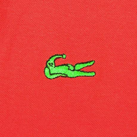 ラクニシテドライポロシャツ(レッド)