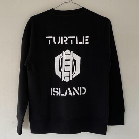 TURTLE ISLAND ズナマ/下駄 スウェット Black